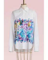 Jil Sander - Clara Printed Shirt - Lyst