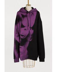 Maison Margiela - Hoodied Dress - Lyst