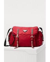 Prada - Nylon Messenger Bag - Lyst