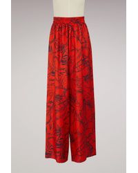 Roseanna - Silk Connor Large Trousers - Lyst