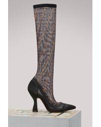 Fendi - Tropical Futurism Court Shoes - Lyst