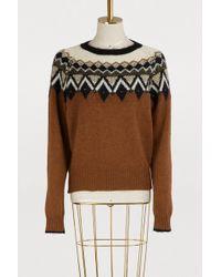 Vanessa Bruno - Joleen Alpaca Sweater - Lyst