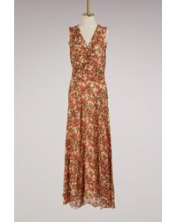 Isabel Marant - Silk Flessy Dress - Lyst