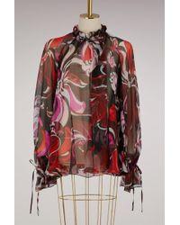 Emilio Pucci - Aruba Printed Silk Shirt - Lyst