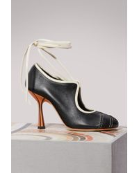 Marni - Mary Jane Court Shoes - Lyst