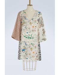 La Prestic Ouiston - Indian Silk Dress - Lyst