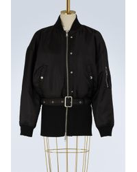 Opening Ceremony - Belted Bomber Jacket - Lyst