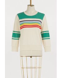 Mother - The Matchbox Striped Sweatshirt - Lyst