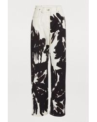 Dries Van Noten - Printed Jeans - Lyst