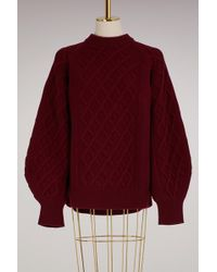 Victoria Beckham - Oversized Sleeves Pullover - Lyst