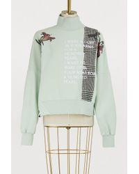 Each x Other - Patch Sweatshirt - Lyst