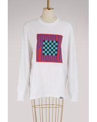 Proenza Schouler - Graphic Printed T-shirt - Lyst