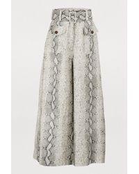 Zimmermann - Corsage Linen Trousers - Lyst