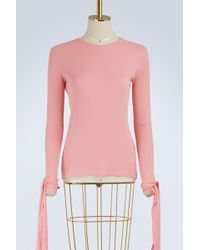 JW Anderson - Tie-sleeved T-shirt - Lyst