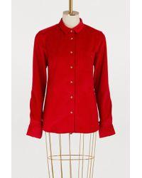 Maison Labiche - Amour Corduroy Shirt - Lyst