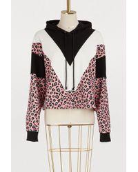 Vivetta - Cotton Leopard Hoodie - Lyst