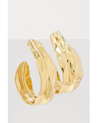Annelise Michelson - Draped Clip Hoops - Lyst