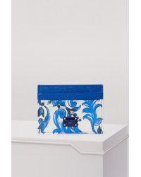 Dolce & Gabbana - Maiolica Cardholder - Lyst