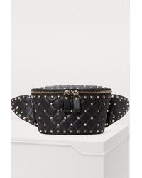 Valentino - Gavarani Studded Belt Bag - Lyst