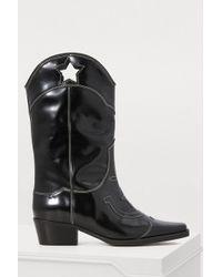 Ganni - Marlyn Cowboy Boots - Lyst