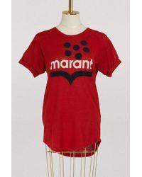 Étoile Isabel Marant - Koldia Linen T-shirt - Lyst