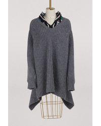 Balenciaga - Cut Knit - Lyst