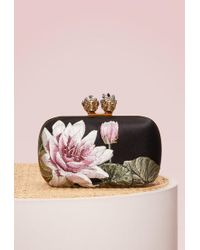 Alexander McQueen - Queen&king Embroided Clutch - Lyst