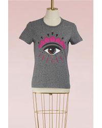 KENZO - Cotton Eye Tshirt - Lyst