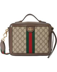 Gucci Ophidia Shoulder Bag - Natural