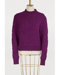 Isabel Marant - Brantley Wool Sweater - Lyst