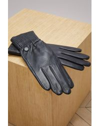 Canada Goose - Leather Rib Glove - Lyst