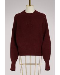 Isabel Marant - Cotton And Wool Lonnyl Sweater - Lyst