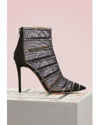 Jimmy Choo - Belle 100 Ankle Boots - Lyst