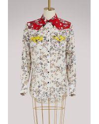 Rag & Bone - Jasper Floral Print Shirt - Lyst
