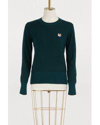 Maison Kitsuné - Merino Sweater - Lyst