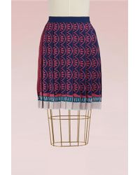 Mary Katrantzou - Mighty Jacquard Skirt - Lyst