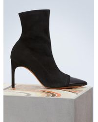 Givenchy - Suede Leather Boots - Lyst