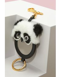 Miu Miu - Panda Key Ring With Mirror - Lyst