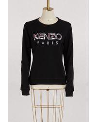 KENZO - Cotton Paris Sweatshirt - Lyst