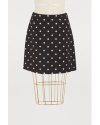 Vivetta - Polka Dot Mini Skirt - Lyst