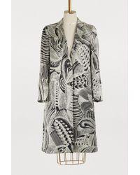 Dries Van Noten - Embroidered Coat - Lyst
