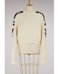 Isabel Marant - Cotton And Wool Laytonn Jumper - Lyst