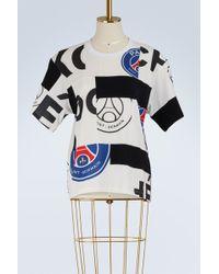 Koche - Psg Logo Cotton T-shirt - Lyst