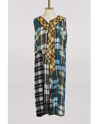 Marc Jacobs - Pleated Dress - Lyst
