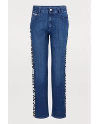 Stella McCartney - Logo Stripe Jeans - Lyst