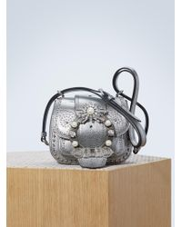 Miu Miu - Dahlia Studded Bag - Lyst