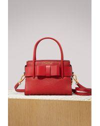 Miu Miu - Leather Top Handle Bag - Lyst