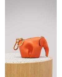 Loewe - Elephant Bag Charm - Lyst