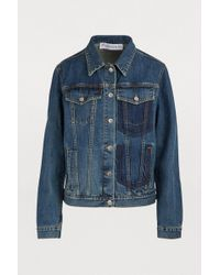 JW Anderson - Shaded Pockets Denim Jacket - Lyst