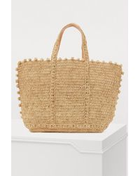 Vanessa Bruno - Medium+ Shopping Bag With Circles - Lyst